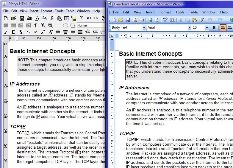 Oracle Forms HTML Editor and Rich Text Editor