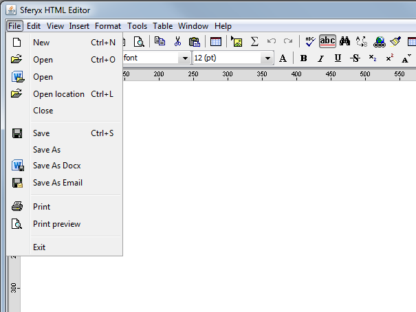 How to send e-mail from the HTML Editor in Oracle Forms