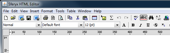 Open, Save, Print Microsoft Word Docx files with the Java HTML