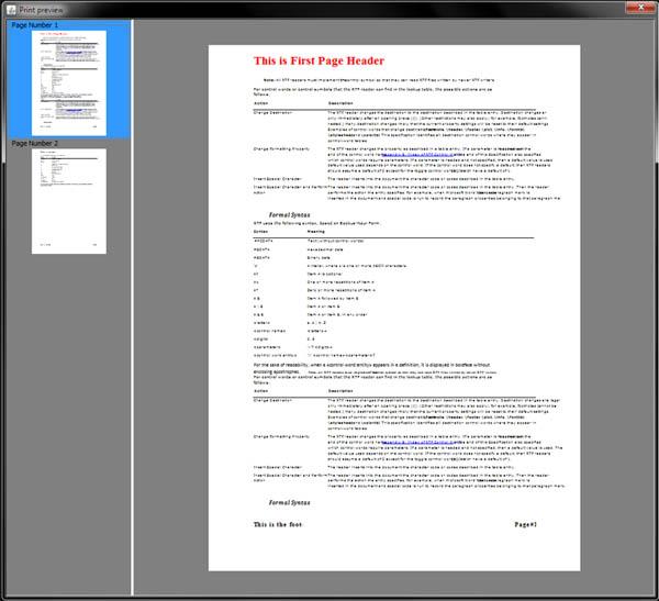 Screenshots - Sferyx JSyndrome HTML Editor